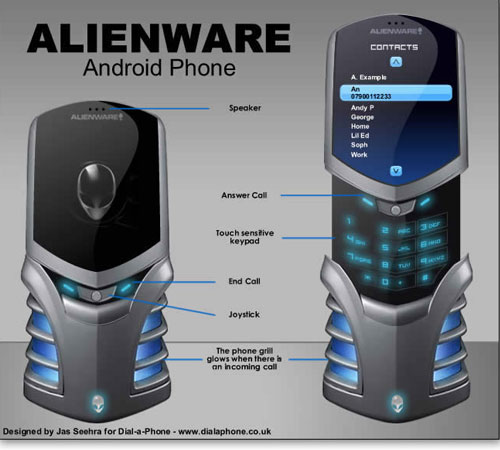 alienware phone