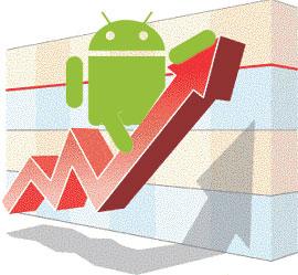 Устройства на базе Android опередят аналоги  с Windows к 2016 году