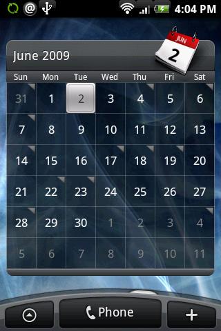 rosie4-calendar-widget