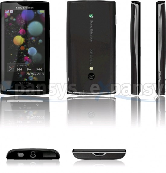 Sony Ericsson Xperia X3 Android With Specs & Pics!