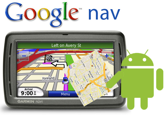 Google Navigation Gps Turn By Turn Directions