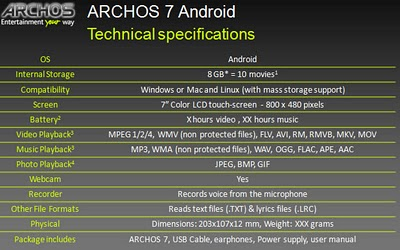 archos4-specs