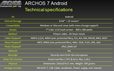 archos4-specs