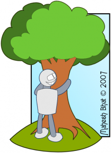 robot-hugging-tree