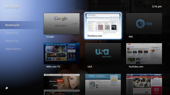 Google TV Home
