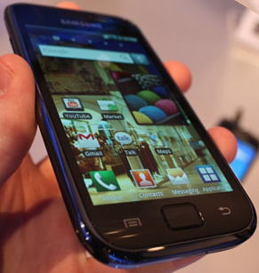 Samsung i897 Headed to AT&T as the Samsung Captivate