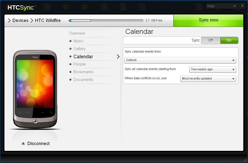 to your phone android download now overview of htc sync