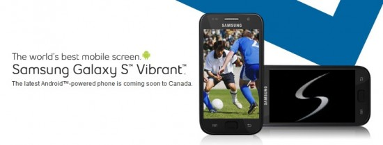 bell canada samsung vibrant