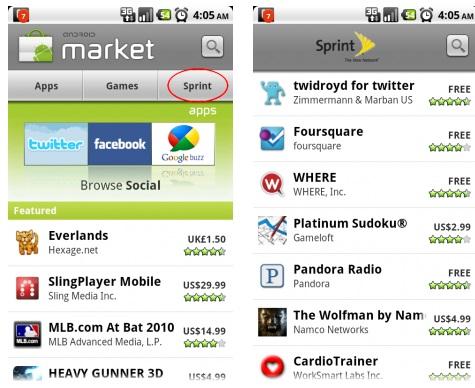 sprint apps