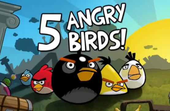 the full game of angry birds