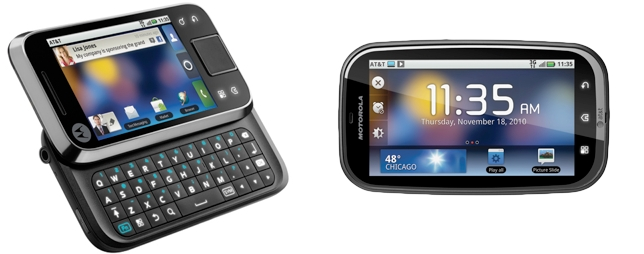 Motorola Drops Off the BRAVO, FLIPSIDE, and FLIPOUT at AT&T