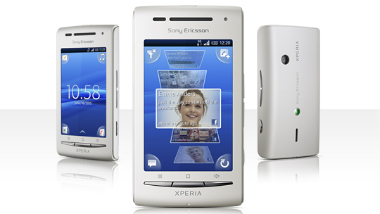 sony ericsson begins shipping the xperia x8. Black Bedroom Furniture Sets. Home Design Ideas