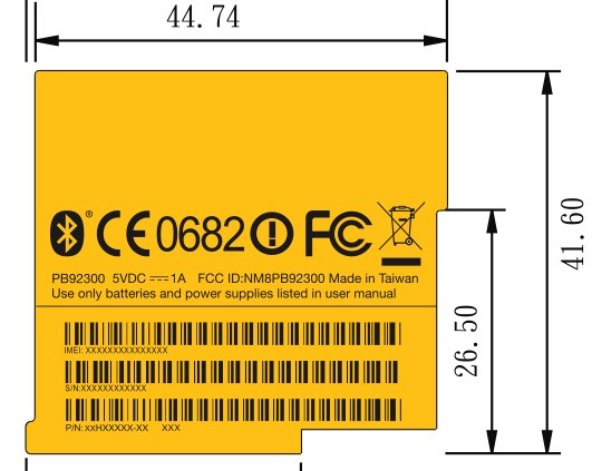 htc_pb92300_fcc_label