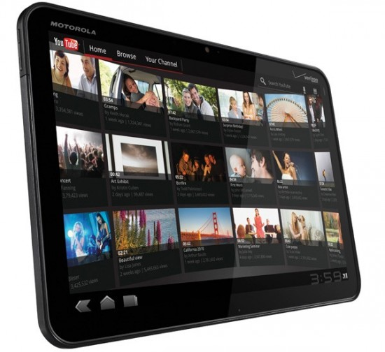 xoom 550x504 Motorola preparing a beta test for Xoom WiFi update | Tech NEWS