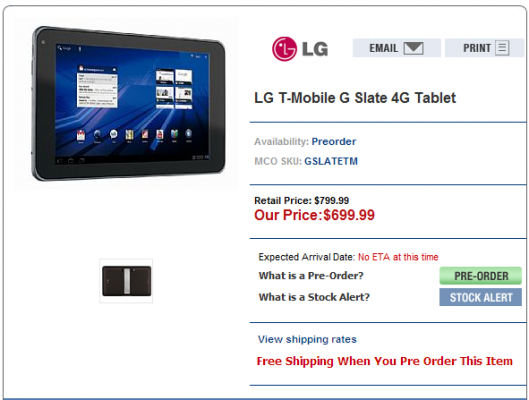 Upcoming LG Optimus Pad could cost up to $700 ...