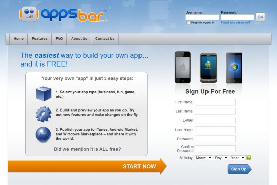 Making Your Own Android App Has Never Been Easier Thanks To Appsbar