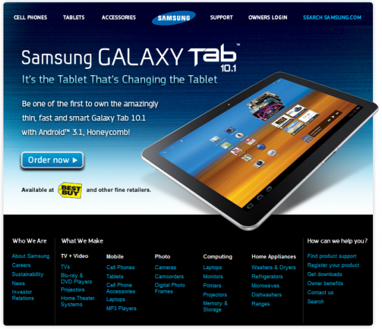 tab 10 1 now available for pre order pre order the samsung galaxy tab