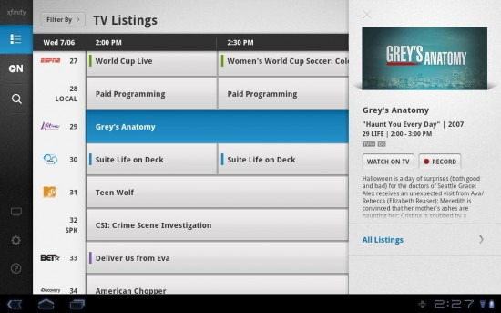 your program guide and dvr are being updated