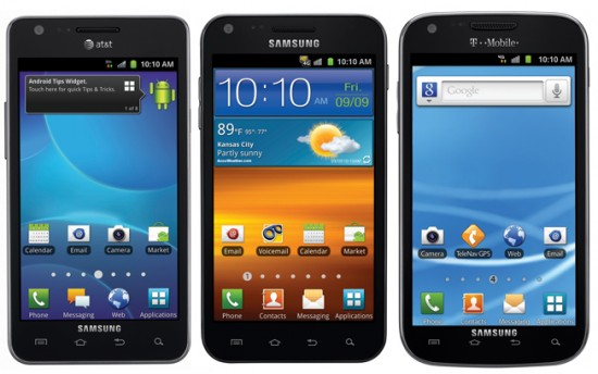 galaxysIIfamilyportrait 550x344 Samsung Galaxy S II wins Smartphone of the Year award at Mobile World Congress | Tech NEWS