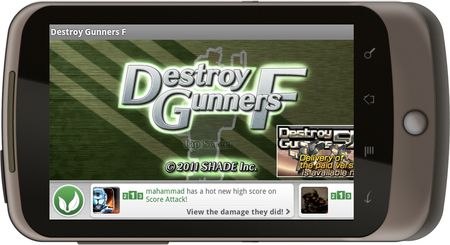 OpenFeint Announces GameFeed to Make Android Gaming More Social