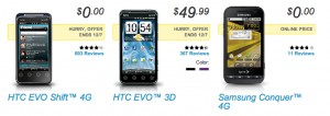 HTC Evo 3D Deal