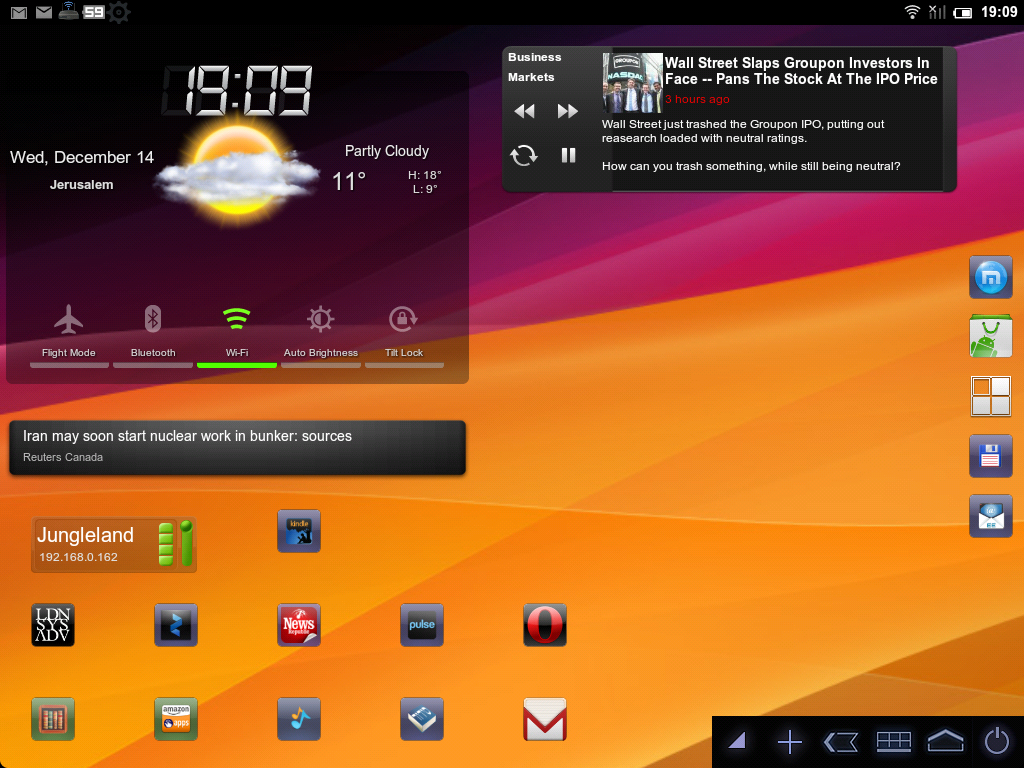 MIUI en HP Touchpad