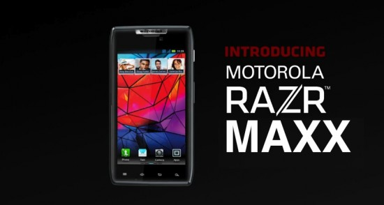 MOTOROLA RAZR MAXX Phandroid 550x294 Motorola to Showcase 24 Hours of Battery Might at Feb. 6 RAZR MAXX Event? | Tech NEWS