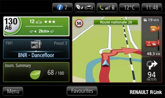 renault introduces in dash android r link along with apps. Black Bedroom Furniture Sets. Home Design Ideas