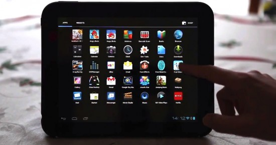 Video HP TouchPad Receives Android 4.0.3 Ice Cream Sandwich
