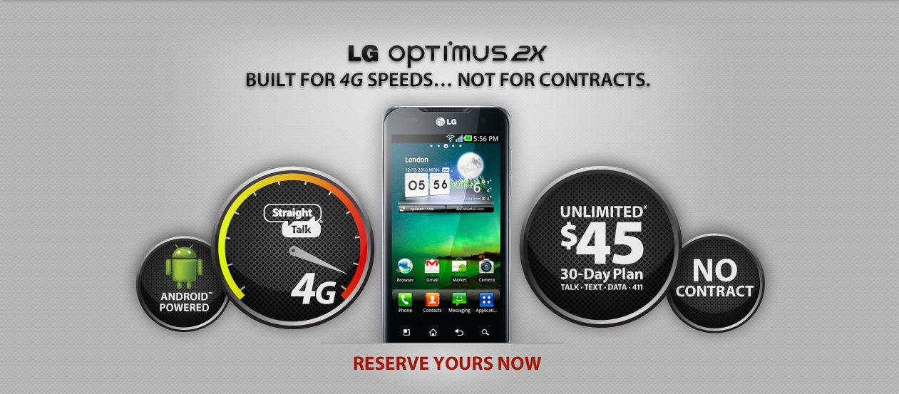 Straight Talk LG Optimus