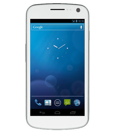 galaxy nexus white Samsung Galaxy Nexus getting the white treatment, starting in the UK