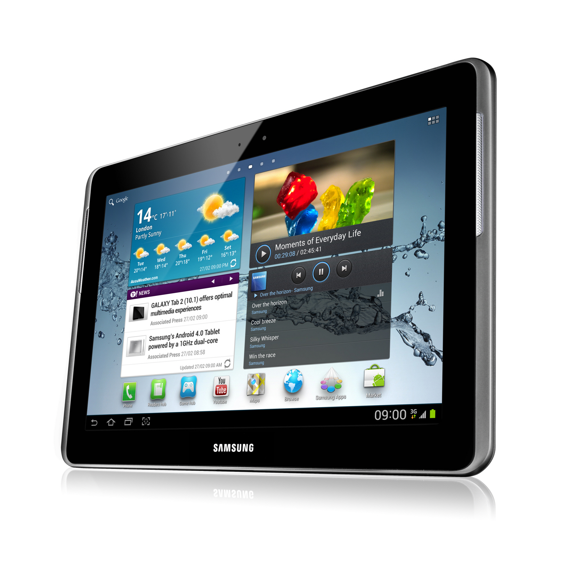 Samsung Galaxy Tab 2 10.1 production halted for switch to quad-core