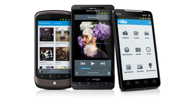 Rdio for Android 2.6.12