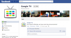google tv announcement