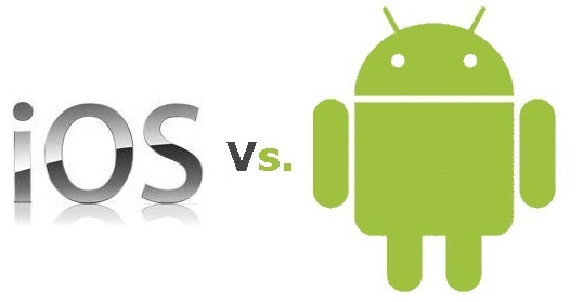 android vs ios platforms