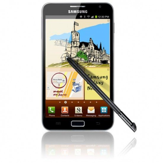 samsung galaxy note att 550x550 AT&T Samsung Galaxy Note rooted before release | Tech NEWS
