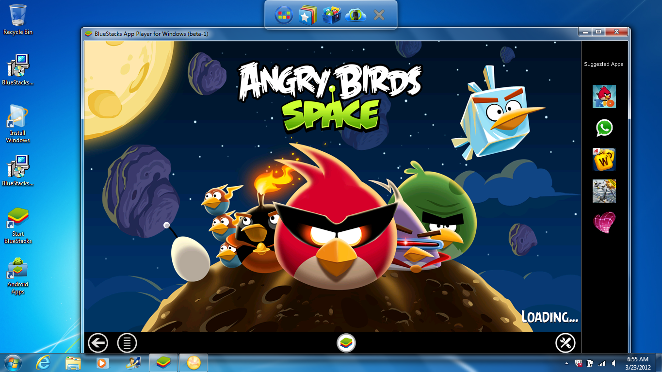 Bluestacks App Player : Android sur votre PC