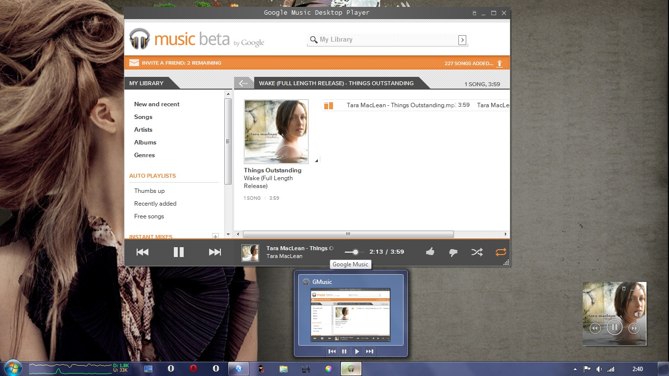 Hidden Gem: Unofficial Google Music Desktop Player For Windows