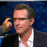 Google Glass Newsom Show