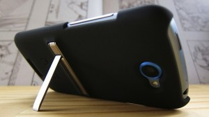 HTC One S Kickstand case back