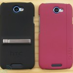 HTC One S case kickstand