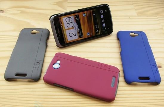 HTC One S получает официальный OEM чехол с подставкой