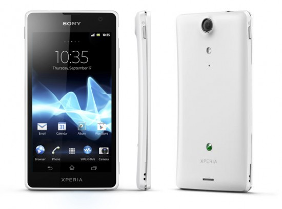 XperiaGX 550x408 Sony goes all SLIM & SMART with the launch of the Xperia GX and SX