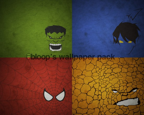 Like An Avenger With These Super Hero Minimal Wallpapers Download