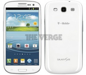White T-Mobile GS3