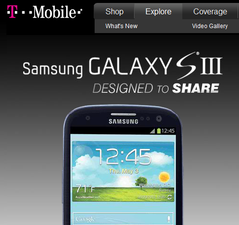 Mobile to Debut the Samsung Galaxy S III on June 21