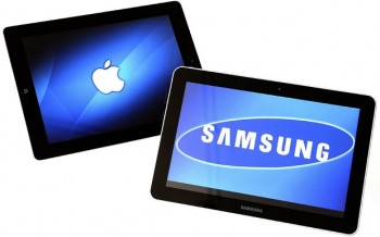 FILE NETHERLANDS ECONOMY APPLE SAMSUNG GALAXY TAB 10.1