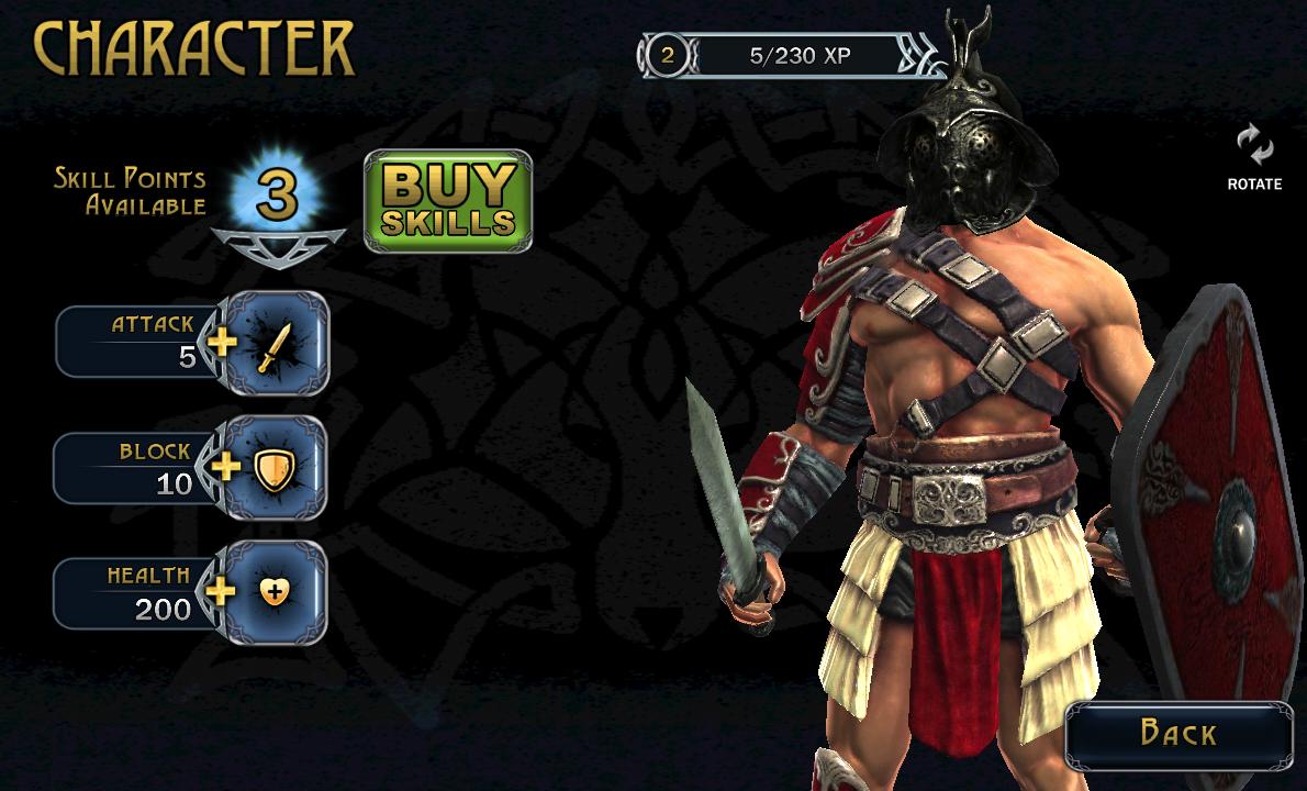 BLOOD & GLORY LEGEND - возвращение боев на арене в новой части игры