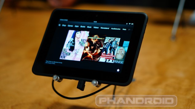 Kindle Fire HD 7 hands on