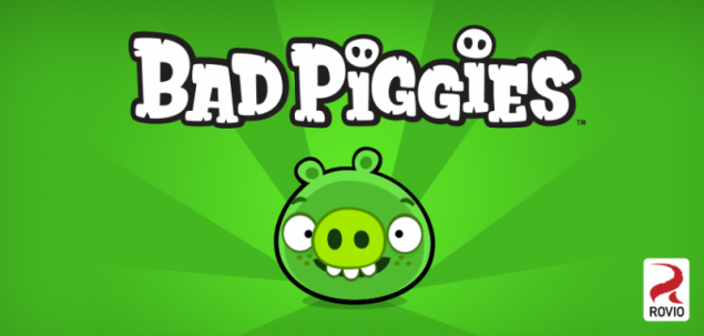 Rovio announces Bad Piggies for September 27th, says nary a slingshot in sight
